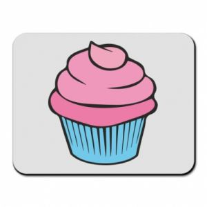 Mouse pad Big cupcake - PrintSalon