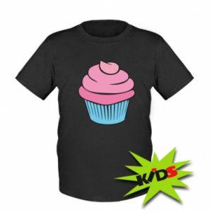 Kids T-shirt Big cupcake