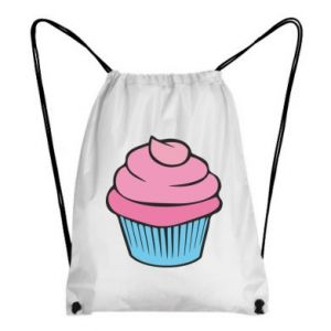 Backpack-bag Big cupcake - PrintSalon