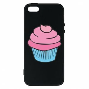 Phone case for iPhone 5/5S/SE Big cupcake - PrintSalon