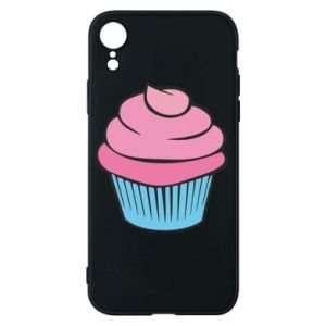Phone case for iPhone XR Big cupcake - PrintSalon