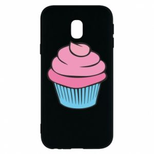 Phone case for Samsung J3 2017 Big cupcake - PrintSalon