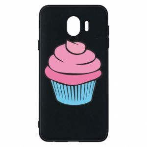 Phone case for Samsung J4 Big cupcake - PrintSalon