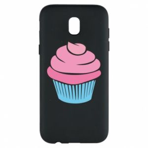 Phone case for Samsung J5 2017 Big cupcake - PrintSalon