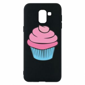 Phone case for Samsung J6 Big cupcake - PrintSalon