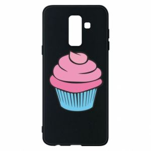 Phone case for Samsung A6+ 2018 Big cupcake - PrintSalon