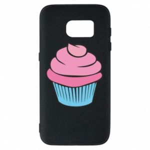 Phone case for Samsung S7 Big cupcake