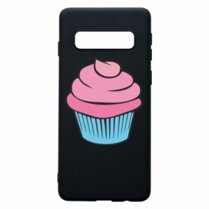 Phone case for Samsung S10 Big cupcake - PrintSalon
