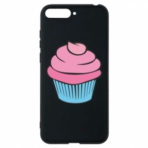 Phone case for Huawei Y6 2018 Big cupcake