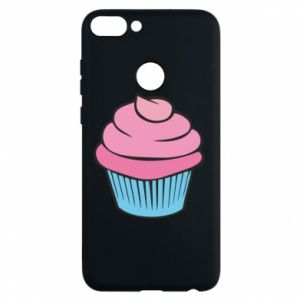 Phone case for Huawei P Smart Big cupcake