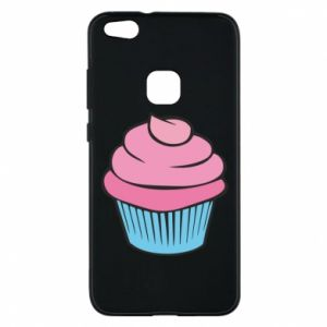 Phone case for Huawei P10 Lite Big cupcake - PrintSalon