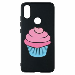 Phone case for Xiaomi Mi A2 Big cupcake - PrintSalon