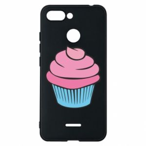 Phone case for Xiaomi Redmi 6 Big cupcake - PrintSalon