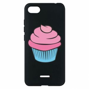 Phone case for Xiaomi Redmi 6A Big cupcake - PrintSalon