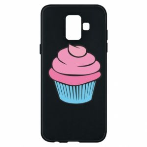 Phone case for Samsung A6 2018 Big cupcake - PrintSalon