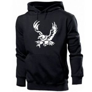 Men's hoodie Big eagle