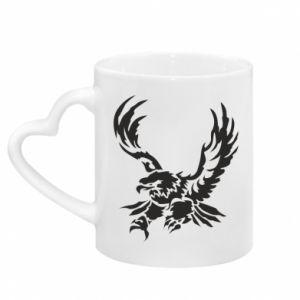 Kubek z uchwytem w kształcie serca Big eagle