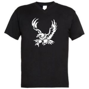 Męska koszulka V-neck Big eagle