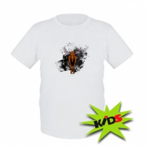 Kids T-shirt Big elk - PrintSalon