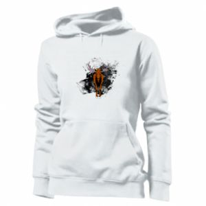 Women's hoodies Big elk - PrintSalon