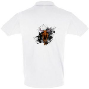 Men's Polo shirt Big elk - PrintSalon