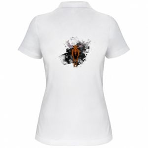 Women's Polo shirt Big elk