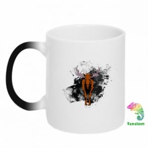 Chameleon mugs Big elk - PrintSalon