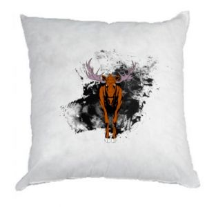 Pillow Big elk - PrintSalon