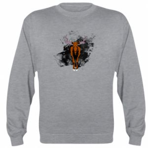 Sweatshirt Big elk - PrintSalon