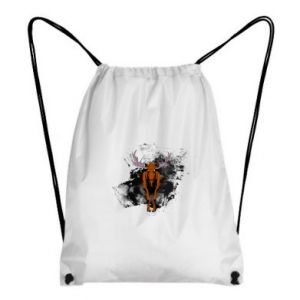 Backpack-bag Big elk - PrintSalon