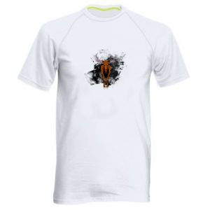Men's sports t-shirt Big elk - PrintSalon