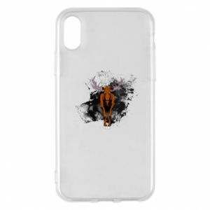 Phone case for iPhone X/Xs Big elk