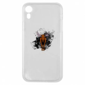 Phone case for iPhone XR Big elk