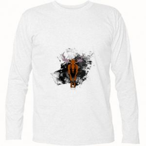 Long Sleeve T-shirt Big elk - PrintSalon