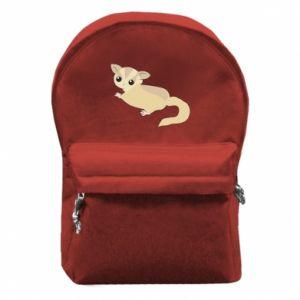 Plecak z przednią kieszenią Big-eyed animal