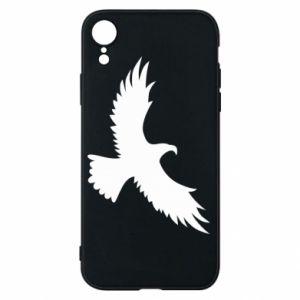 Etui na iPhone XR Big flying eagle