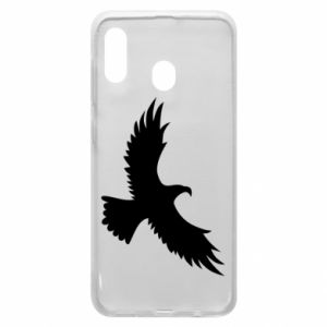 Etui na Samsung A20 Big flying eagle