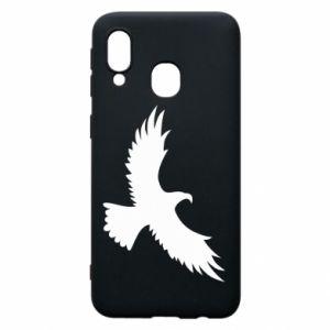 Etui na Samsung A40 Big flying eagle