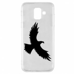 Etui na Samsung A6 2018 Big flying eagle
