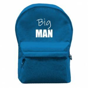Backpack with front pocket Big man