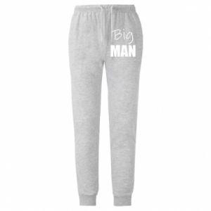 Męskie spodnie lekkie Big man