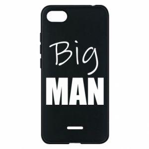 Phone case for Xiaomi Redmi 6A Big man