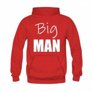 Kid's hoodie Big man