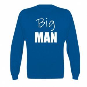 Kid's sweatshirt Big man