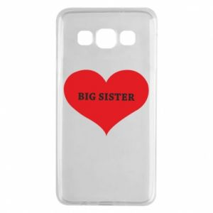 Etui na Samsung A3 2015 Big sister, napis w sercu