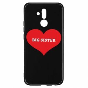 Etui na Huawei Mate 20 Lite Big sister, napis w sercu