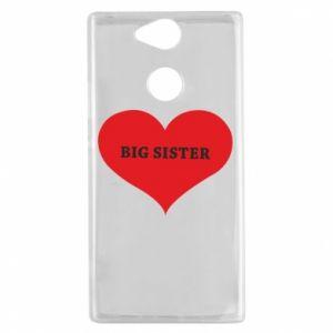 Etui na Sony Xperia XA2 Big sister, napis w sercu