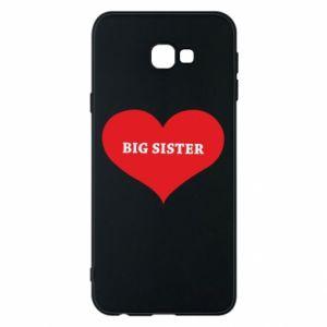 Etui na Samsung J4 Plus 2018 Big sister, napis w sercu