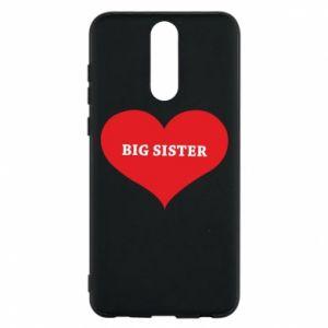 Etui na Huawei Mate 10 Lite Big sister, napis w sercu