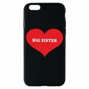 Etui na iPhone 6/6S Big sister, napis w sercu